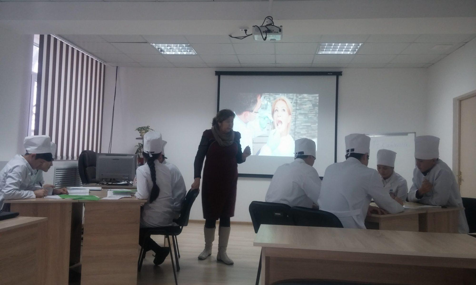 Открытый урок по казахскому языку